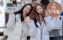Từ 570K là mua được áo phao như sao Hàn, ấm điên đảo lại trendy
