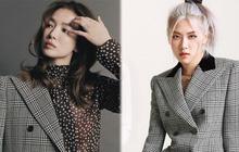 """Hết đụng hàng Lisa, Song Hye Kyo tiếp tục """"chiến"""" với Rosé khi cùng diện blazer hàng hiệu"""