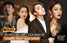 Gala WeChoice 2020 sắp diễn ra, liệu bạn có nhớ hết những nghệ sĩ Vpop nào đã giành chiến thắng trong suốt 6 mùa đã qua không?