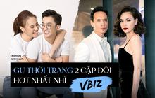 """2 cặp đôi siêu hot của Vbiz: Cường Đô La - Thu Trang đơn giản nhưng vẫn """"xịn xò"""" , Hà Hồ - Kim Lý lên đồ thế nào mà hút fan vậy?"""