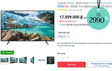 9 TV đang được sale giá tốt: Toàn loại xịn sò, sắm về là sang nhà sang cửa