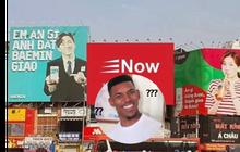 """Thực hư sự xuất hiện của bảng quảng cáo Now tại """"giao lộ đối đáp giữa Hari Won - Trấn Thành"""""""