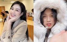 Khổ như Hoa hậu Đỗ Hà đi học: Vừa đi diễn xong phải chạy tới trường cho kịp giờ, vào Nam ra Bắc như cơm bữa để không bỏ học