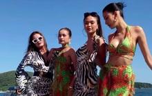 Khoảnh khắc hiếm có: 4 Quán quân Vietnam's Next Top Model đọ sắc trong 1 khung hình