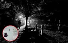 """Cộng đồng mạng xôn xao với video xe điện Tesla phát hiện """"người vô hình"""" ở nghĩa trang"""
