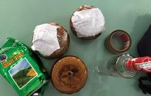 Bên trong 2 hũ gốm bị bỏ quên tại quán ăn ở Đà Nẵng là các thai nhi chưa tựu hình