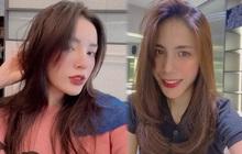 Sao Việt làm tóc đón Tết: Kỳ Duyên, Thủy Tiên có chỗ cắt tóc layer xịn sò chị em nên hóng