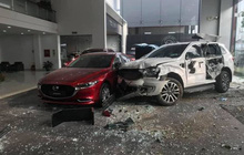 Thông tin mới nhất vụ nữ tài xế lái ô tô tông thẳng vào showroom khiến 1 người tử vong