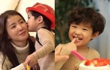 Mỹ nhân Vườn Sao Băng lần đầu khoe diện mạo con trai với chồng đại gia, netizen đổ đứ đừ luôn vì quá đáng yêu