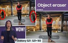 """Chỉ trong vòng 10 giây ngắn ngủi, Samsung khiến người xem livestream ra mắt Galaxy S21 phải thốt lên """"Wow!"""""""