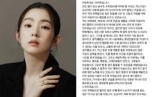 Cuối cùng Irene (Red Velvet) đã đích thân lên tiếng về phốt thái độ chấn động, viết hẳn tâm thư lần đầu nói rõ nguyên nhân
