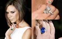 David Beckham tặng bà xã 15 chiếc nhẫn đính hôn suốt 23 năm qua, nhìn đâu cũng thấy kim cương với đá quý cỡ khủng