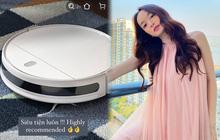 Chị em mau nối gót Kaity Nguyễn sắm robot hút bụi siêu tiện lợi để đỡ quét dọn mỏi cả lưng