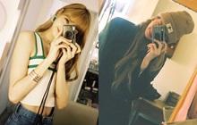 """Lisa và máy ảnh là """"mối lương duyên"""" hoàn mỹ, cứ ở cạnh nhau là có những khoảnh khắc """"nghệ"""" thế này đây"""