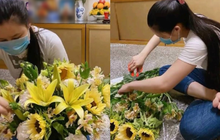 Vợ cố ca sĩ Vân Quang Long đã lộ diện sau drama đấu tố, lặng lẽ đến cắm hoa ở nơi thờ phụng chồng