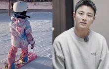 Xôn xao hình ảnh nghi vấn Giả Nãi Lượng đưa Lý Tiểu Lộ và con gái đi trượt tuyết, Cnet phản ứng gay gắt
