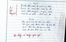 """Học trò """"tức cảnh sinh tình"""", sáng tác thơ trong vòng 5 phút, giáo viên thẳng tay phê: Bậc thầy ngôn ngữ!"""