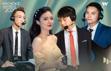"""Tùng Hoạ Mi, MC Phương Thảo và những """"Sứ giả"""" của Liên Quân Mobile tại WeChoice Awards 2020, đều là những cái tên rất đình đám!"""