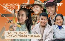 """WeChoice Awards 2020: Đường đua Hot YouTuber của năm căng như dây đàn, Lâm Vlog, Ẩm Thực Mẹ Làm và các đề cử nói gì về """"đối thủ""""?"""
