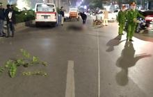 Vụ xe máy tông tử vong cụ bà khi qua đường ở Hà Nội: Thêm một nữ sinh tử vong, công an trích xuất camera điều tra