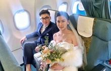 Hành trình đón dâu đặc biệt trên chuyến bay của Vietnam Airlines