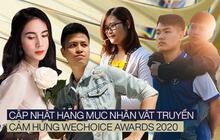 Hạng mục Nhân vật truyền cảm hứng của WeChoice Awards: 20 câu chuyện vô cùng ấn tượng, vote cho ai cũng đều xứng đáng!
