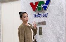 """Tiểu thư RMIT thi Hoa hậu Việt Nam bất ngờ khoe làm MC VTV, chưa lên sóng chính thức mà đã gọi hội vào """"ủng hộ"""""""