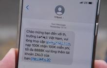 Giả mạo TPBank nhắn tin quảng cáo cá cược