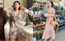 """""""Bản sao Hà Tăng"""" đích thị là chuyên gia diện váy với 5 kiểu cực trẻ xinh, tinh tế khiến chị em muốn sắm theo hết để mặc Tết"""