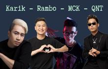"""Rapper MCK """"gạ kèo"""" Refund Gaming đánh LMHT, ngay lập tức Karik và Divkid cũng vào nhanh tay """"xí chỗ"""""""