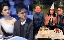 """CEO Matt Liu """"tháp tùng"""" Hương Giang đón sinh nhật mẹ vợ tương lai, khi nào hai anh chị tính cưới?"""