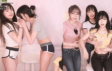 """Làm thử thách """"ngửi ngực đoán người"""", nàng streamer khiến người xem choáng váng với dàn hot girl cực phẩm tham dự"""