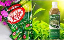 Các sản phẩm với vị trà xanh có giá bình dân đang được bán trên thị trường