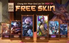 Liên Quân Mobile: Game thủ tiếp tục nhận về 6 skin bậc S trở lên miễn phí từ nay đến Tết Âm lịch!