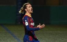 """Sút hỏng 2 quả phạt đền, Barca chật vật hạ """"ngựa ô"""" ở cúp Nhà vua Tây Ban Nha"""