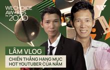 Kết thúc cuộc so kè nảy lửa tại hạng mục Hot YouTuber của năm, Lâm Vlog thắng Thiên An Official với số vote sát nút!