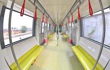 Ảnh: Cận cảnh đoàn tàu đầu tiên dự án Nhổn - ga Hà Nội