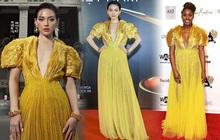 """Khánh Linh như nữ thần tại WeChoice Awards, đụng váy 350 triệu của NTK Công Trí với sao ngoại mà """"ăn đứt"""""""