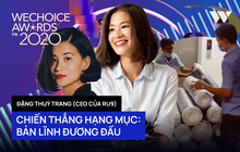 Bản lĩnh đương đầu tại WeChoice Awards 2020 gọi tên Đặng Thuỳ Trang của Ru9: Khi tấm lòng tốt đẹp toả sáng!
