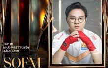 Tự hào game thủ Việt: SofM lọt top 5 nhân vật truyền cảm hứng tại WeChoice Awards 2020