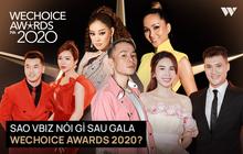 Cả Vbiz rần rần về Gala WeChoice Awards 2020: Binz vinh dự, Thuỷ Tiên nghẹn ngào và hàng loạt thông điệp được lan toả