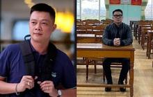 """MC Quang Minh đi họp phụ huynh cho con trai nhưng phút cuối lại """"xị mặt"""", nghe lý do mà giận giùm nha!"""