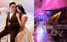 Cập nhật đám cưới Á hậu Thuý An tại TP.HCM: Không gian tiệc sang trọng, dàn khách mời toàn mỹ nhân chuẩn bị đổ bộ