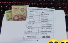 """Thực hư phong bì tiền của thanh niên tên """"Tân"""" nổi rần rần khắp MXH, Tết đến nơi mà cả lương và thưởng chỉ có... 110.000 đồng"""