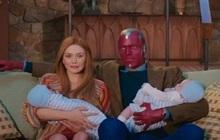 Giải mã loạt chi tiết hiểm hóc ở WandaVision tập 3: Cặp song sinh là con... Wanda với kẻ khác, còn chồng thì vẫn chẳng biết gì!