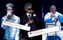 """Netizen ấn tượng với sân khấu hip-hop của bộ tứ MCK, WEAN, Lăng LD và Ricky Star: """"Chứng kiến Northside và Southside kết hợp quá đỉnh"""""""
