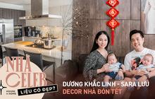 Nhà của Dương Khắc Linh - Sara Lưu: Phòng khách trưng hoa bắt mắt, gian bếp đắt đỏ chiếm gần một nửa giá mua nhà