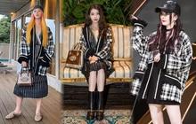 Cùng diện áo khoác Gucci: IU, Khánh Linh, Quỳnh Anh Shyn, Dương Mịch, ai có cách mix hay ho nhất?