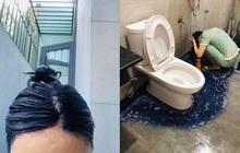 Muốn tiết kiệm tiền mà vẫn xinh đón Tết, cô nàng tự nhuộm tóc ở nhà nhận ngay cái kết thảm, dân tình chỉ ngay ra sai lầm
