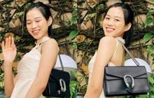 """Xem ảnh Hoa hậu Đỗ Thị Hà đeo túi Gucci, lẽ nào công chúng sẽ có ví dụ mới về """"vấn nạn"""" dìm hàng hiệu?"""